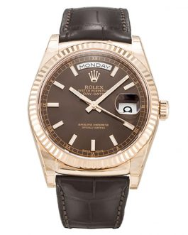 Rolex Day-Date 118135 Chocolate